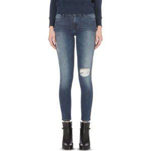Frame Le High Skinny Jeans in Endell Indigo Wash
